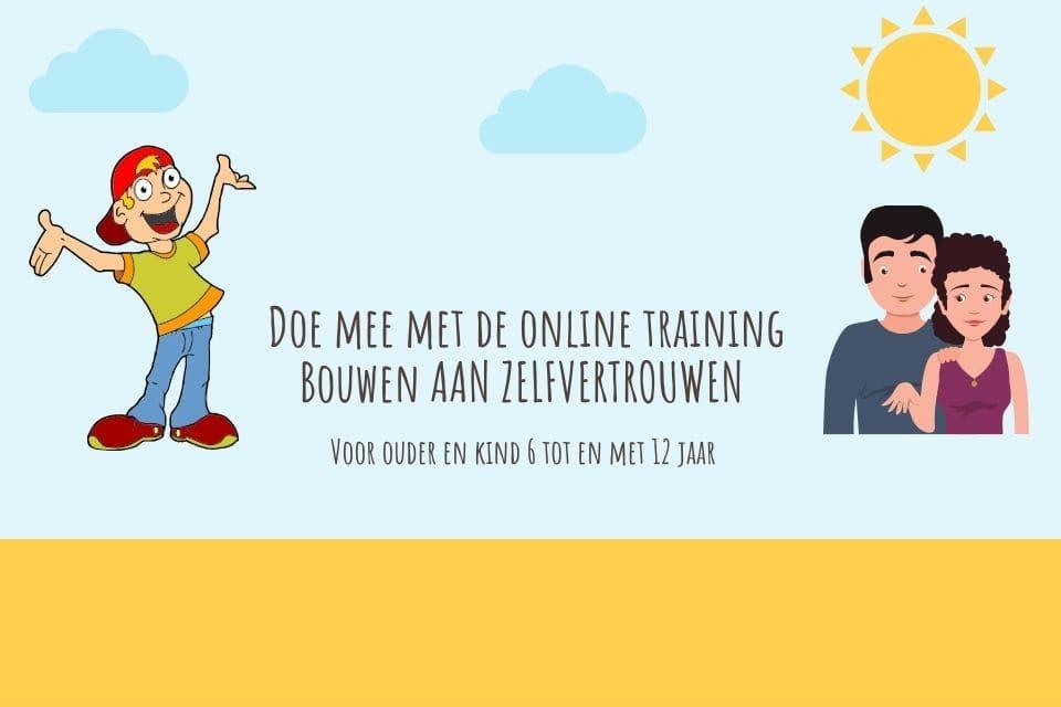 Online training Bouwen aan zelfvertrouwen
